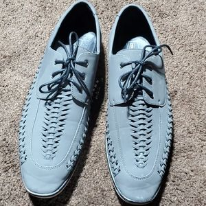 Asos, men's grey dress shoes.